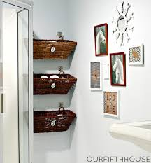 small bathroom diy ideas bathroom bathroom shelves basket along with winning images