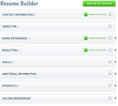 Filling Out A Resume Online by Resumebaking Creates Resumes In Minutes