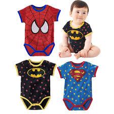 Halloween Costumes Newborn Babies Super Hero Baby Bodysuit Newborn Baby Boy Clothes Customes Toddler