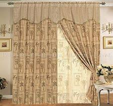 Curtains With Trees On Them Palm Tree Curtains Ebay