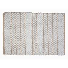 White Bathroom Rug Modern Bath Rugs Mats Allmodern
