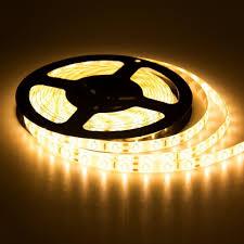 Led Lights Flexible Strip by Smd 5050 60led M Waterproof Led Flexible Strip Warm White 16 4ft