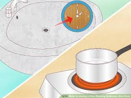 Home Remedy For Clogged Bathroom Sink 4 Ways To Unclog A Slow Running Bathroom Sink Drain Wikihow