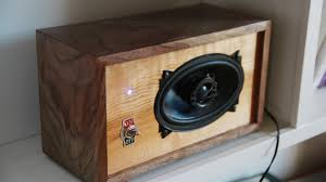 How To Build A Speaker Cabinet Diy Bluetooth Speaker Youtube