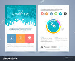 one page brochure template single page brochure templates best of single page brochure