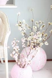 cherry blossom decor arrange flowers the cherry blossoms in the paper lantern paper
