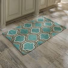 Teal Kitchen Rugs Decorating Teal Kitchen Rugs Modern Aqua Rug Home Design Ideas
