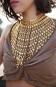 big statement gold necklace images 57 statement necklaces gold flower bouquet vintage gold statement jpg