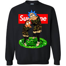 rick and morty supreme t shirt sweater hoodie icestork