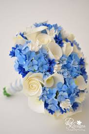 centerpieces for decorating ideas contempo nautical flower blue and white