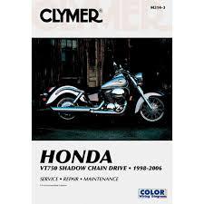 amazon com clymer repair manual for honda vt750 vt 750 98 06