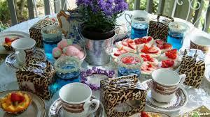 tea party table garden tea party table setting ideas