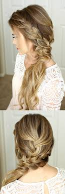homecoming hair braids instructions braided side swept prom hairstyle missy sue