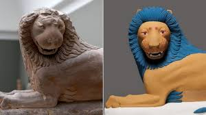 the true colors of ancient statues cnn style