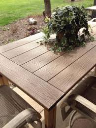 Trex Benches Make Benches From Scrap Composite Decking Outside Ideas
