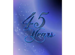 45 year anniversary gift 45th wedding anniversary gift for parents sapphire 45 wedding