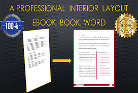 design pdf ebook interior layout and formatting template for 5