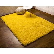 Yellow Area Rug Rug Factory Plus Crystal Shag Vibrant Hand Tufted Yellow Area Rug