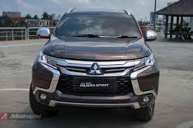 mitsubishi baru test drive pajero sport baru 2016 indonesia autonetmagz
