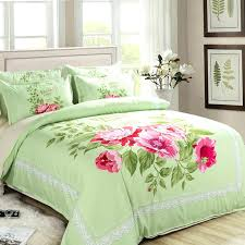 Green And Yellow Comforter Red Floral Quilts U2013 Co Nnect Me