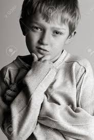 Cool Stock by Black And White Shot Of A Cool Kid Stock Photo Picture And
