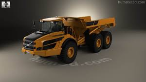 volvo truck store 360 view of volvo a40g dump truck 2014 3d model hum3d store