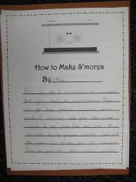 Handwriting Worksheets 4th Grade First Grade Wow S U0027mores Day