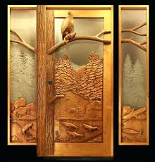 Carved Exterior Doors Carved Front Doors Medium Image For Front Door Carved Tree