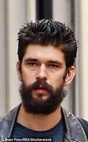 hair styles for 35 year olds men james bond s ben whishaw reveals new bushy beard and shorter hair
