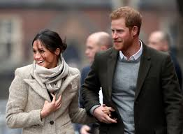 meghan harry prince harry and meghan markle have first outing in 2018 time