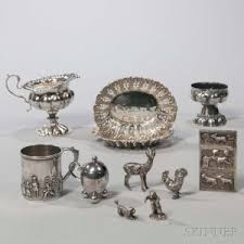 Silver Items Search All Lots Skinner Auctioneers