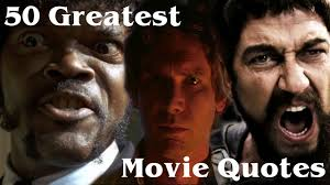 50 greatest movie quotes of all time youtube