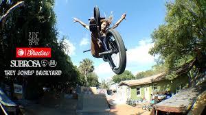 backyard bmx session at trey jones u0027 w shadow u0026 subrosa youtube