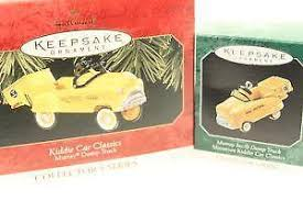 hallmark car ornaments ebay
