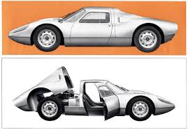 porsche 904 rear 1964 porsche carrera gts brochure