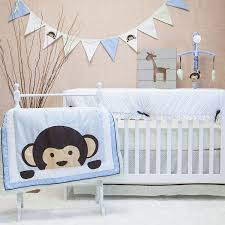 Boy Monkey Crib Bedding Pam Grace Creations Maddox Monkey Mix Match 10 Crib