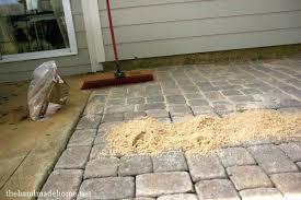 Patio Paver Blocks Ideas Concrete Patio Blocks And Laying 48 Concrete Patio Pavers