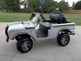 club car 70 u0027s custom club car bronco replica golf cart golf cart