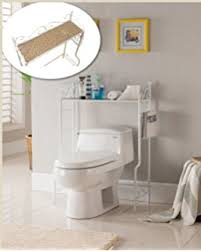 Over The Toilet Etagere Amazon Com Weatherby Bathroom Over The Toilet Storage Cabinet