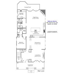 Dining Room Dimensions 867 Argonne Metro Atlanta Real Estate Specialist