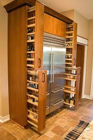 kitchen cabinet slide out kitchen cabinet pull out spice rack ideas for both roomy and