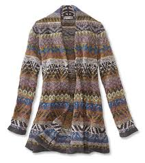 fair isle sweater coat fair isle sweater coat orvis