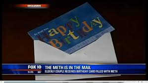couple find birthday card with 1g in meth in mail ny daily news