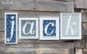 Wall Changing Tables For Babies by Baby Boy Nursery Wall Decor Custom Name Monogram Frames Perfect