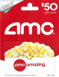 amc theatre gift card 25 gift cards