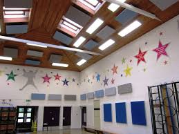 acoustic treatment at brownhill primary
