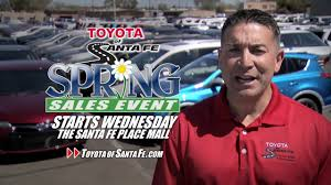 toyota dealer spring sale 2016 toyota of santa fe new mexico toyota dealer
