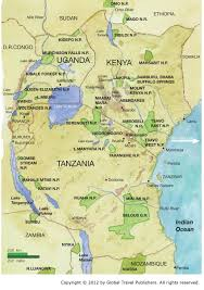 Burundi Africa Map by Our Safaris