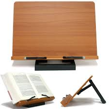 book reading stand for desk jasmine book stand portable wooden reading recipe cookbook desk