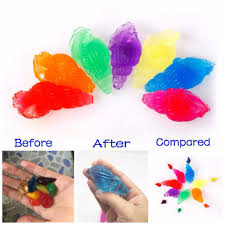 Color Up Online Shop 50g Lot Jelly Color Conch Shape Growing Up Water Beads